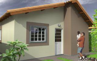 Projeto Completo de Casa Popular (32,35m²) disponível para download