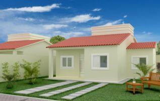 Projeto Completo de Casa com 03 quartos (66m²)