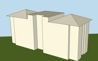 Projeto Completo T+4 em DWG (2 quartos/apê)