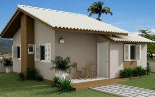 Projeto de Casa Popular (61m² – 3 quartos) grátis!