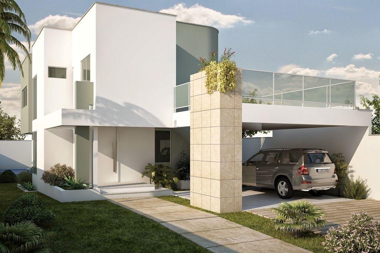 Projeto gr tis de casa duplex 200m 3 quartos para - Fotos de duplex ...