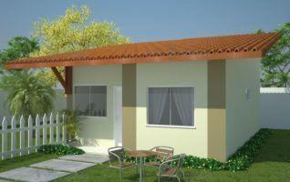 Projeto Completo de Casa com 03 quartos (48m²)