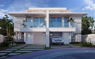 Projeto Completo de Casa Duplex (531m² – 4 quartos) Grátis para download!