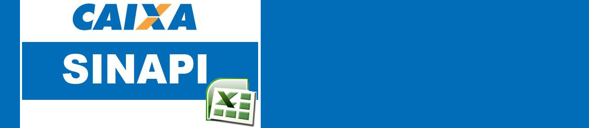 Tabela SINAPI em Excel