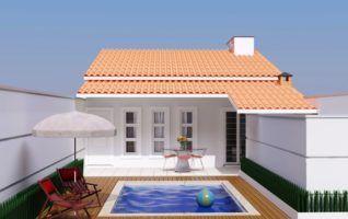 Projeto Completo de Casa Popular (36m2 – 2 quartos) disponível para download