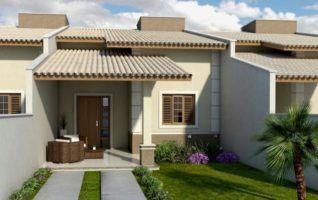 Casa Plana Geminada (30,00m² – 2 quartos) para download