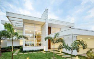 Planta Baixa de Casas para download com 02 quartos (120m2)