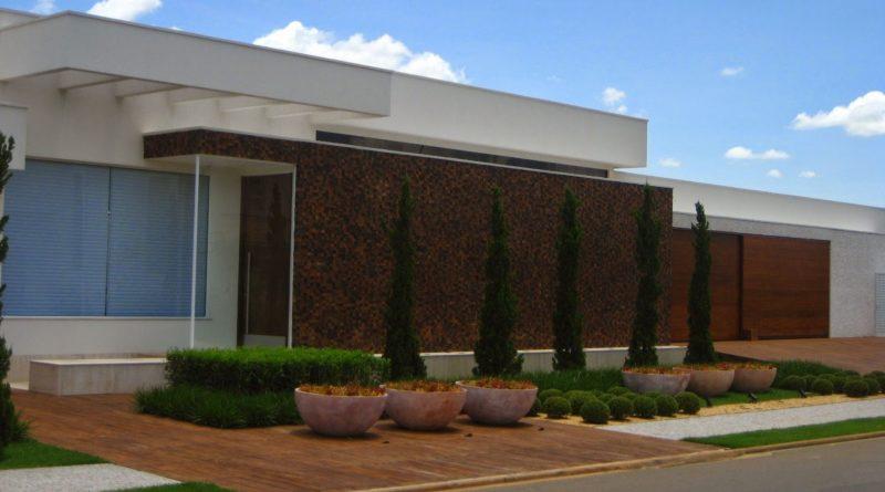 Projeto Completo de Casa Plana Térrea (153m2 – 3 quartos) para download